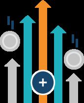 icone - 4,53% net en 2020*